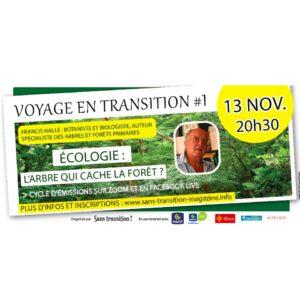 """Conférence """"Écologie : L'arbre qui cache la forêt ?"""""""