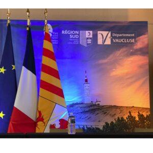 Jacqueline Bouyac, Présidente du Parc naturel régional du Mont Ventoux