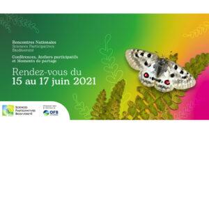 Rencontres Nationales Sciences Participatives Biodiversité 2021